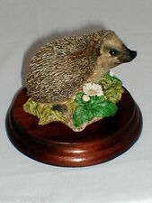 Original, Very Rare, Old,  Border Fine Arts,  HEDGEHOG, 1991.