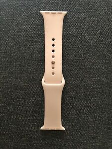 OEM Genuine Apple Watch Rose Sport Band 38mm S/M