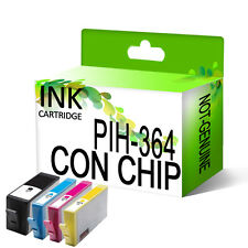 4 Genérico Cartuchos de tinta para HP 364 XL DeskJet 3070A 3520 con chip