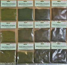 WWS Four Seasons Mix Static Grass Retail Mega Kit in 2mm,4mm & 6mm RB