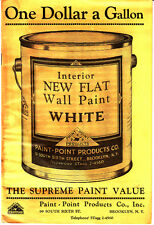 Old Catalog Yellow Prices Paint Point Products 99 South 6th St Brooklyn NY