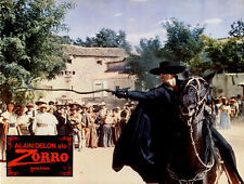 Zorro ORIGINAL Aushangfoto Alain Delon / Stanley Baker