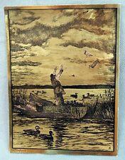 Palenske Bit of Paradise Color Foil Etch Print H Vintage 1960/'s R