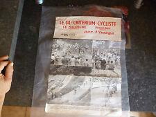 Affiche Cyclisme Course Vélo Ancien Coureur Ottano Critérium Dauphiné Poster 61