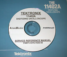 Tektronix 11402a Oscilloscope Service Reference Manual