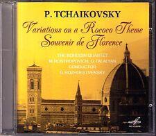 ROSTROPOVICH: TCHAIKOVSKY Rococo Souvenir de Florence CD Rozhdestvensky Borodin