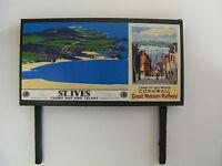 GWR - St. Ives & Cornwall - Model Railway Billboard - N & OO Gauge Available