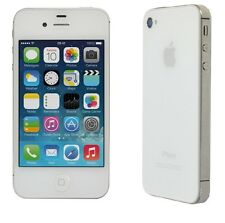 Apple iPhone 4 8GB White Straight Talk Smartphone Clean ESN