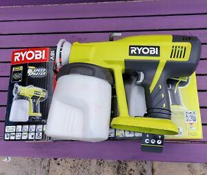 Ryobi One+ 18v Paint Spray Gun Speed Sprayer P620  Bare Tool