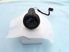 BMW E30 M3 ILLUMINATED LEATHER SHIFT KNOB, GENUINE BMW, OEM, BRAND NEW