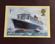 Ocean Liners - 2004 - RMS Queen Mary 2 2004 - PHQ Card