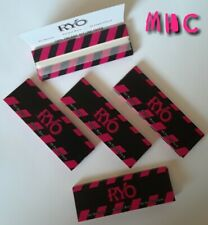 5 books! RYO Pink Ultra Thin 1.25 (1-1/4) Cigarette Rolling Papers!   (MHC)