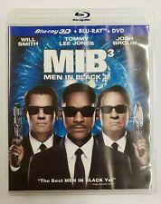 Mib³ Men in Black 3 (Blu-ray 3D/Blu-ray/Dvd, 2012, 3-Disc Set)