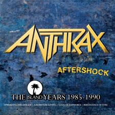 Anthrax - Aftershock - The Island Years 1985 - 1990 NEW CD BOX SET