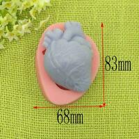 Halloween Human Heart Cake Decorating Tools Series Silicone Mould C2M4