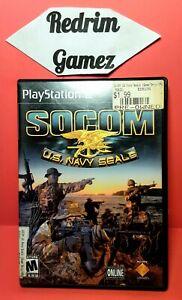 Socom U.S Navy Seals PS2 Video Games