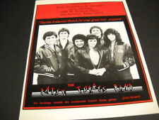 Patsy Torres Band says thanks to Anheuser-Busch original Promo Poster Ad mint