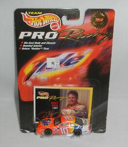 MOC Team Hot Wheels 1997 Edition NASCAR Pro Racing Car Tide Ricky Rudd w/ Card