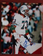 BOB BAUMHOWER SIGNED MIAMI DOLPHINS  8X10 PHOTO  ALABAMA FOOTBALL MAKE AN OFFER!