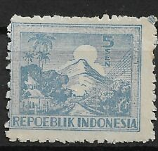 Ned. Indie Repoeblik Indonesia Java- Madoera Zonnebloem 25