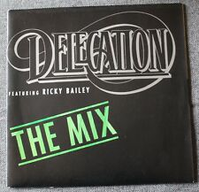 Delegation featuring Ricky Bailey, the mix, SP - 45 tours
