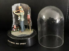 """VINTAGE VET OWNED""""TOUCHING HIS SPIRIT"""" HAND-PAINTED FRANKLIN MINT# BIG 3315"""
