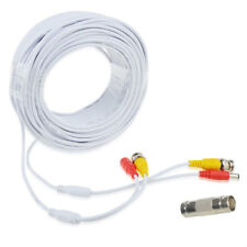 100ft Video Power BNC Cable Cord Lead Wires for Kguard CCTV DVR Security Cameras