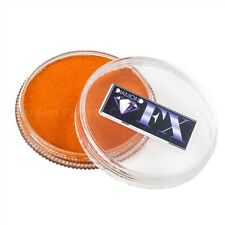 Diamond FX Face Paint- Metallic Orange 32gr