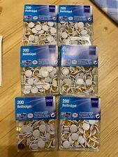 9,5 mm aus Metall 200 Stück Herlitz Reißnägel weiß Durchmesser