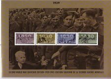 Canada 1939 - 1945 -7 FOLDER CON FDC + schwarzdruc post freschi (interno: docu: 334