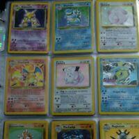 100 Pokemon card lot 100% chance of WOTC Pikachu, holo rare, or rare card