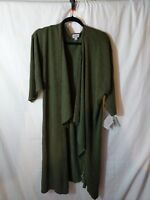 LuLaRoe - Shirley Kimono Cover-Up - Forest Green - Large - Cardigan Top NWT NEW