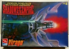 Vintage AMT Star Wars Xizor's VIRAGO w Movable Wings New Sealed 1997