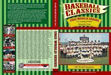 1965 World Series L.A. Dodgers vs Minnesota Twins DVD!