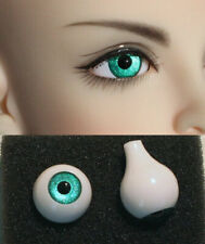 1/3 1/4 1/6 bjd 12mm acrylic doll eyes metallic peacock green full ball dollfie