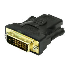 DVI M TO HDMI F 1.4 1080p 2160p 3D TV HDTV PLASMA LCD LED ADAPTER CONVERTER HD