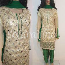 Indian Pakistani Bollywood Designer Party Readymade Salwar Kameez 3piece Suit M