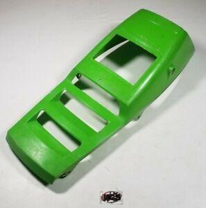 KAWASAKI Tecate 4 (KXF250) OEM Front center hood plastic cover (GREEN) 87 - 88