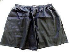 Black Boxer Shorts, New, handmade, Mens Extra Largle XL Polyester