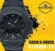 Casio G-Shock Special Color Model Basic Black Watch G100BB-1A