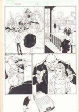 Marvel Knights Spider-Man #15 p.5 - Absorbing Man - 2005 Signed art by Billy Tan Comic Art