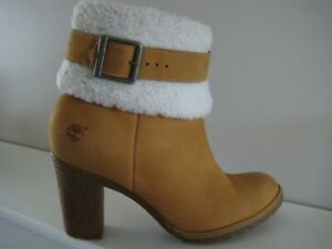 Timberland Ladies Leather Ankle Boots Size 6
