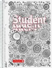 Brunnen Collegeblock Motiv ZENArt A4 kariert 80 Blatt Lineatur 28