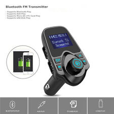 Handsfree Car Kit Bluetooth Fm Transmitter Mp3 Player Dual Usb For Lg iPhone 6 7