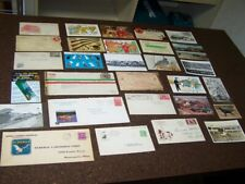 Lot of 29 Early Postcards Envelopes Vintage Hunting Fishing