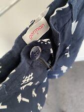 Gorman navy linen print pants size 6