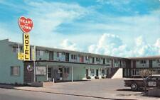 LA JUNTA, CO Colorado    HEART OF TOWN MOTEL  Otero County   Roadside Postcard