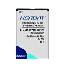HSABAT 3200mAh BL-5J Phone Battery for Nokia N900,X6,5800XM,5800i,5800W,5230XM