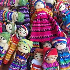 Worry Dolls for Art and Craft from Guatemala x 30 Handmade Bulk lot 15