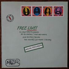 Free ‎– Free Live - Island Records ‎– ILPS 9160 - UK